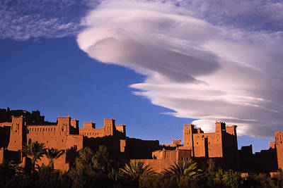 Photograph - Ait Benhaddou Casbah by Michele Burgess
