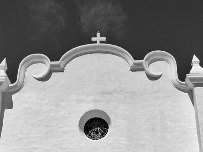 Photograph - Ajo Churches 19 by Jeff Brunton