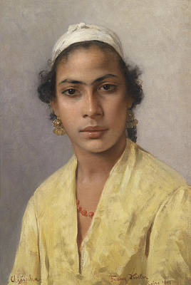 Painting - Ajuscha by Franz Xaver Kosler