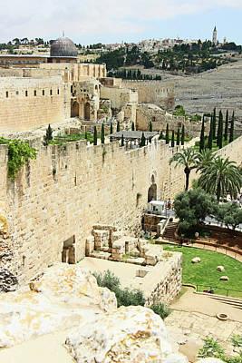 Photograph - Al Aqsa Wall by Munir Alawi
