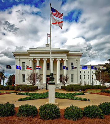 Alabama State Capitol Art Print by Mountain Dreams