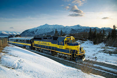 Winter Scenes Photograph - Alaska 3010 by Ed Boudreau