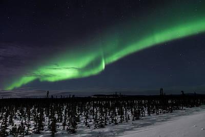 Alaska Photograph - Alaska Aurora Borealis by Scott Slone