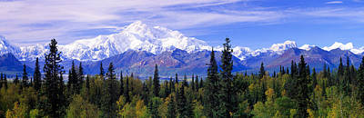 Snow-covered Landscape Photograph - Alaska Range, Denali National Park by Panoramic Images