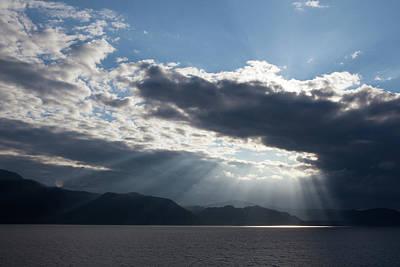 Photograph - Alaska Sunset by Yvette Van Teeffelen