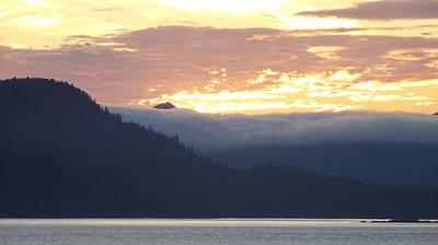 Photograph - Alaskan Coast, View Towards Kosciusko Or Prince Of Wales Islands by David Halperin