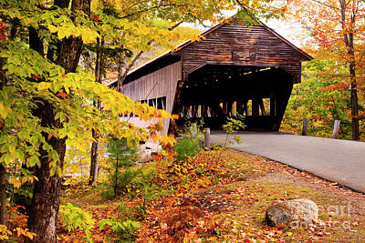 Photograph - Albany Covered Bridge II by Brian Jannsen