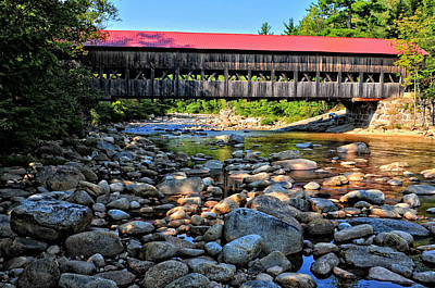 Photograph - Albany Covered Bridge by Mike Martin