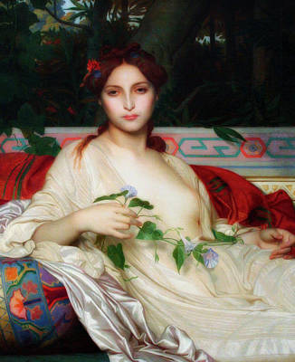 b1f399b44626 Alexandre Cabanel Wall Art - Painting - Albayde by Alexandre Cabanel