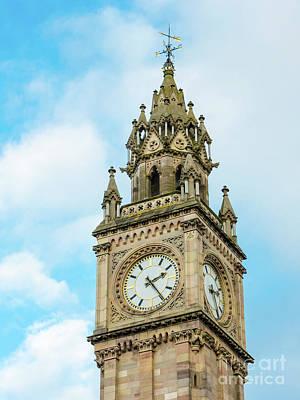 Photograph - Albert Clock, Belfast by Jim Orr