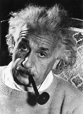Photograph - Albert Einstein (1879-1955) by Granger