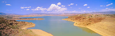 Albiquiu Reservoir, Route 84, New Mexico Art Print by Panoramic Images