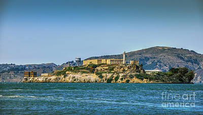 Photograph - Alcatraz San Francisco by David Zanzinger