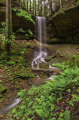 Photograph - Alcorn Falls. by Ulrich Burkhalter
