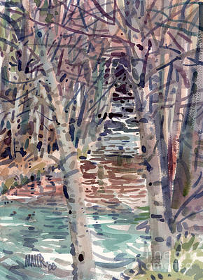2008 Painting - Alder Creek by Donald Maier