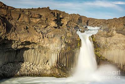 Photograph - Aldeyjarfoss by Gunnar Orn Arnason