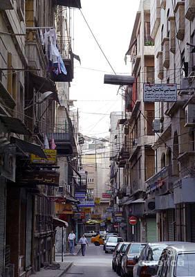 Photograph - Aleppo Street01 by Mamoun Sakkal