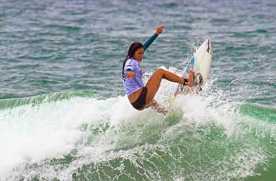 Photograph - Alessa Quizon by Waterdancer