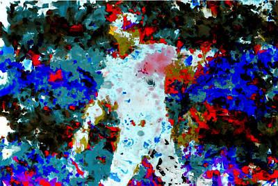 New York Rangers Mixed Media - Alex Rodriguez 02b by Brian Reaves