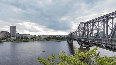 Photograph - Alexandria Bridge by Josef Pittner