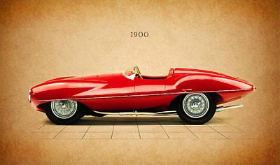 Racing Car Photograph - Alfa Romeo 1900 by Mark Rogan
