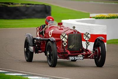 Photograph - Alfa Romeo Rls by Robert Phelan