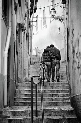 Photograph - Alfama Street by Carlos Caetano