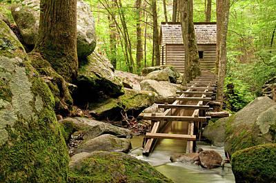 Alfred Reagan's Mill - Great Smoky Mountain National Park, Gatlinburg, Tennessee Art Print