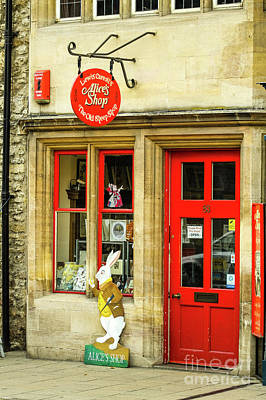 Photograph - Alice's Shop, Oxford, England, Uk by Tom Rydel