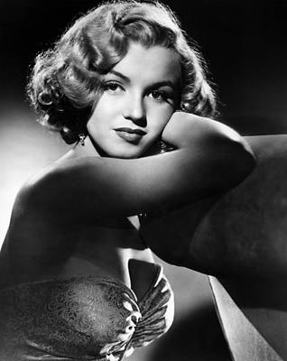1950s Portraits Photograph - All About Eve, Marilyn Monroe, 1950 by Everett