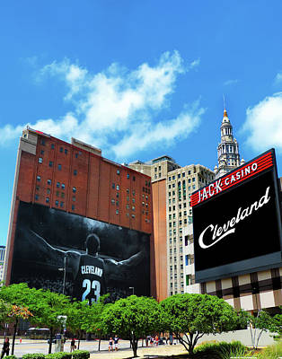 Lebron Photograph - All In Cleveland by Kenneth Krolikowski