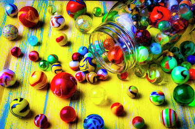 Photograph - All My Marbles by Garry Gay