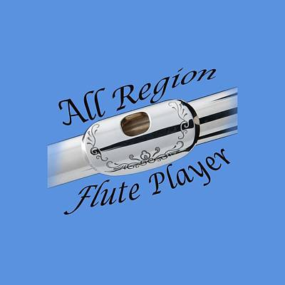 Photograph - All Region Flute Player by M K Miller