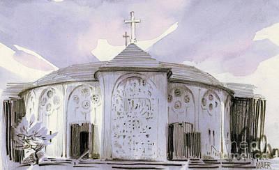 All Souls Church Art Print by Donald Maier