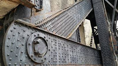 Photograph - All The Rivets  by Zac AlleyWalker Lowing