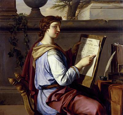 Parable Painting - Allegory Of Arithmetic by Laurent de La Hyre