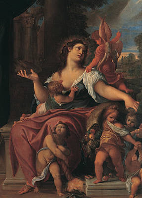 Painting - Allegory Of Providence by Ludovico Carracci