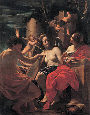 Moral Painting - Allegory by Simon Vouet