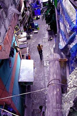 Photograph - Alley by Christopher Shellhammer