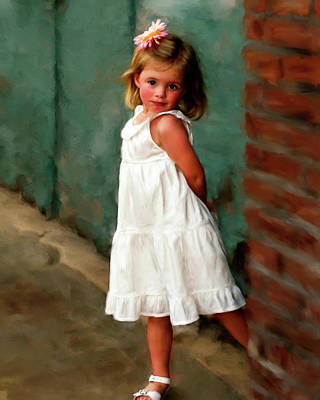 Painting - Allison by Fred Baird