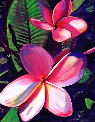 Hawaiian Painting - Aloha by Marionette Taboniar