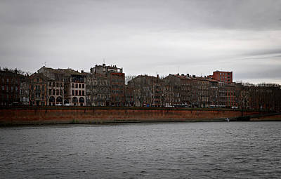 Photograph - Along The Garonne River by Cendrine Marrouat