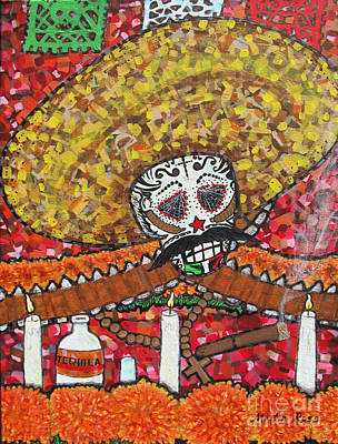Emiliano Zapata Painting - Altar A Zapata by Martin Ross