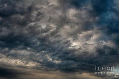 Photograph - Altocumulus Clouds   by Jim Corwin