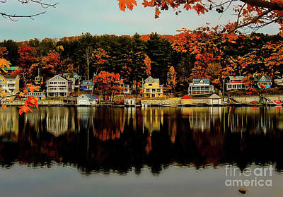 Photograph - Alton Bay - N H by Mim White