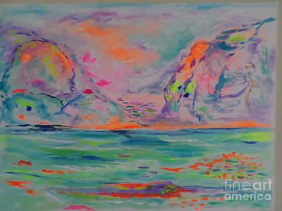 Painting - Amalfi Coast by Sharon Worley