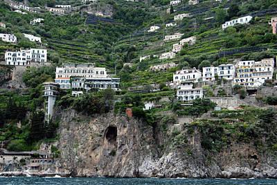 Photograph - Amalfi by Harvey Barrison