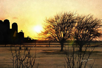 Painting - Amarillo Sunset by Ricky Dean