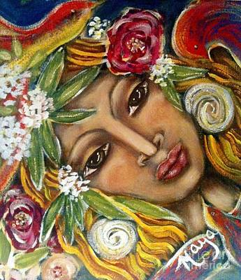 Painting - Amazonia by Maya Telford