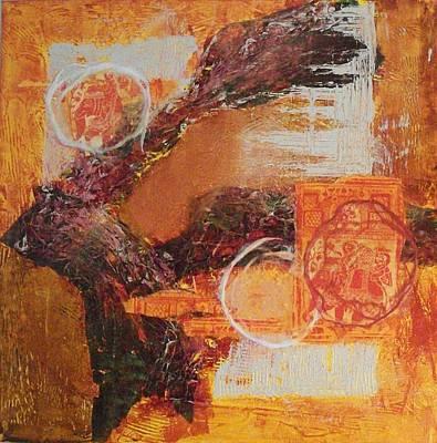 Amber Parade Art Print